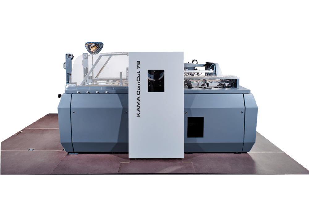 die cutting machine KAMA ComCut 76 as economical cylinder successor